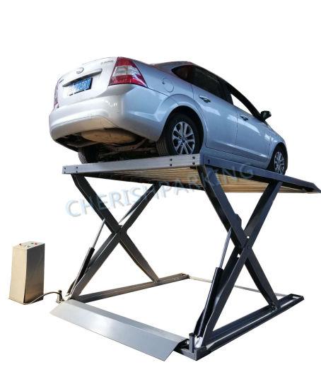 Quality Car Scissor Lift Double Parking Car Lift for Sale