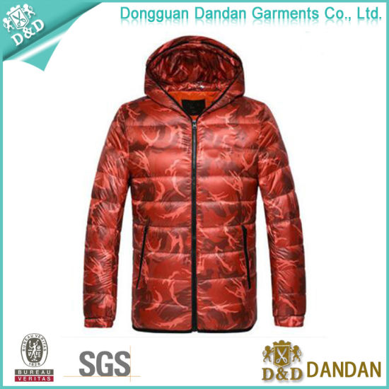 a568baaa7178 Mens Winter Waterproof Outdoor Feather Coat Down Jacket with High Quality  (JS1118001) pictures