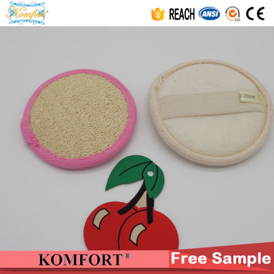 Natural Loofah Disposable Loofah Bath Pad Sponge Wholesale pictures & photos