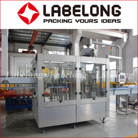 Automatic Pet Bottled Drinking Water Processing Line/Washing Filling Capping Line