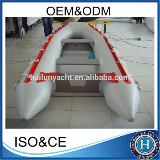 (CE) China 1.2mm 3.3m Wholesale PVC Folding Inflatable Boat Inflatable Fishing Boat USA