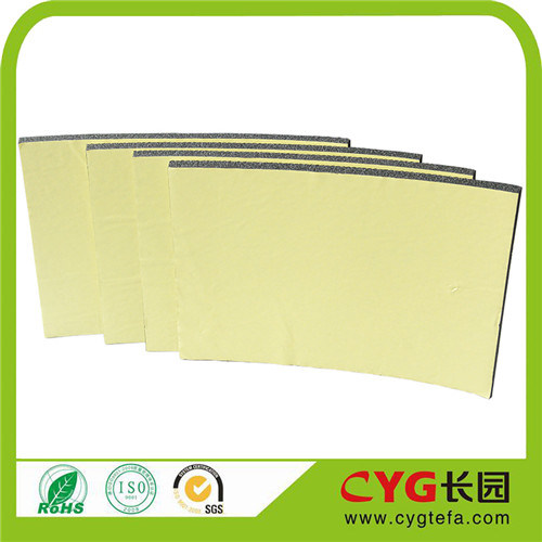 Cyg Air-Conditioner Waterproof Heat Insulation XPE Foam with Adhesive pictures & photos