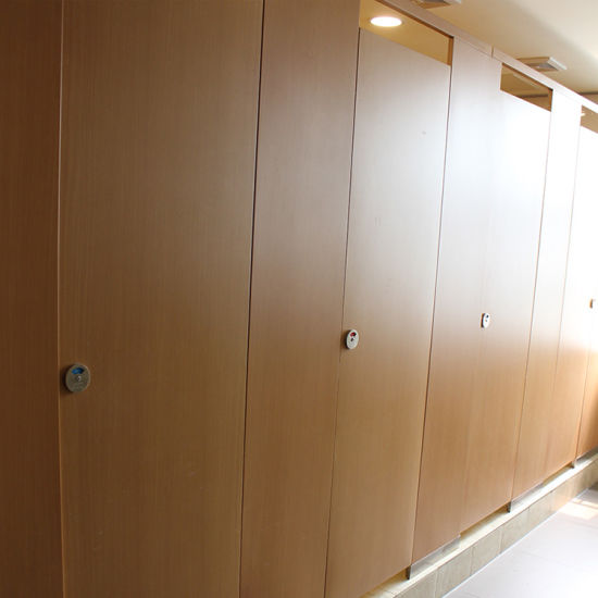 HPL Board Used Bathroom Partitions School Design pictures & photos