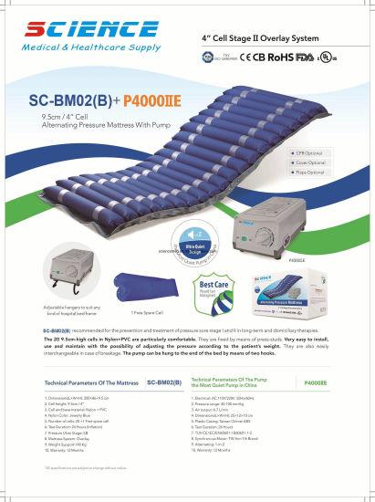 Hospital Bed Bubble Air Mattress with Pump (SC-BM02(B)+P4000II)