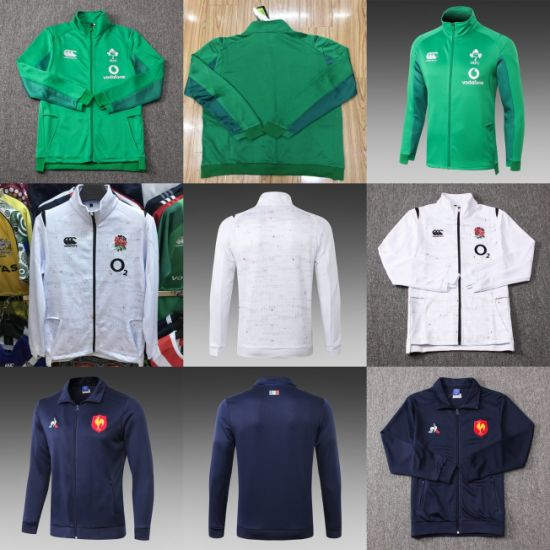 Wholesale France Ireland England Putian Rugby Jackets Hoodies