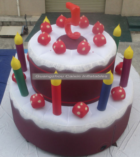 Superb 2019 New Advertising Inflatable Birthday Cake Model For Sale Birthday Cards Printable Inklcafe Filternl