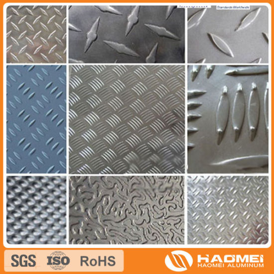 Concave-Convex/Semi-Spherical/Classic Orange PEE/Flat-Top Pebble/Corrugated/Wove Aluminum Embossing Sheet pictures & photos