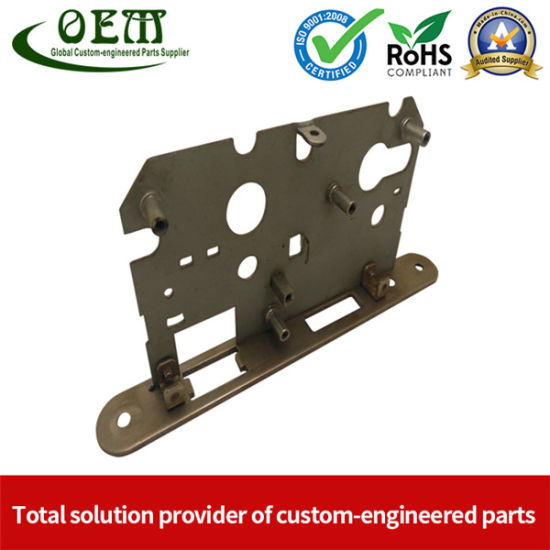 OEM Custom Metal Stamping Parts-Computer Panel