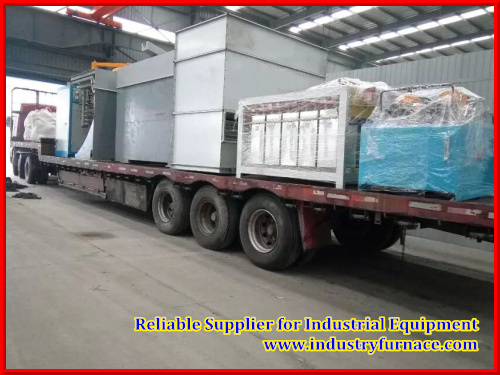 1500kg Capacity of Industry Furnace for Casting Scrap Alloy and Different Aluminium
