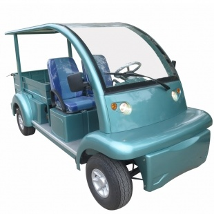 Electric Utility Vehicle, with Long Cargo Bed and Roof, Eg6063kcx pictures & photos