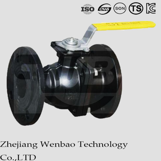ANSI 2-PC Stainless Steel Manual Operated Flanged Ball Valve pictures & photos