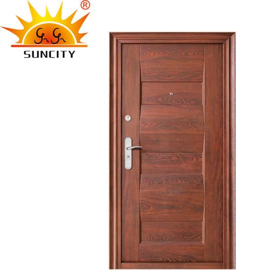 Popular Design Steel Security Window Door