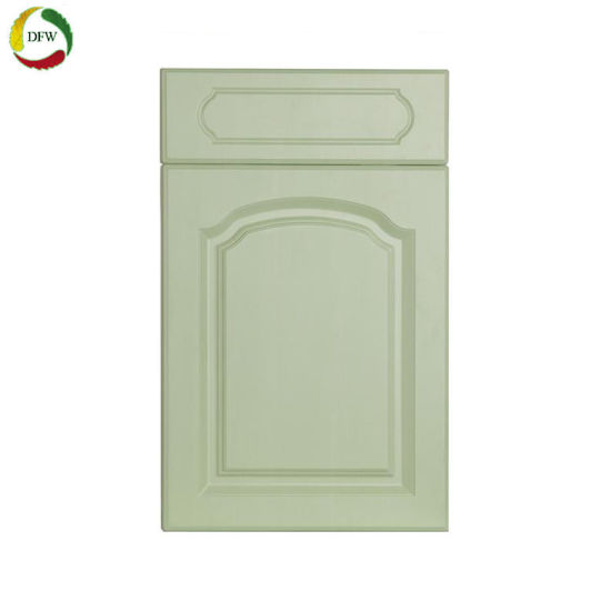 China Kitchen Furniture Parts Pvc Vacuum Kitchen Cabinet Door