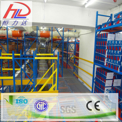 Steel Mezzanine Floor Warehouse Storage Rack pictures & photos