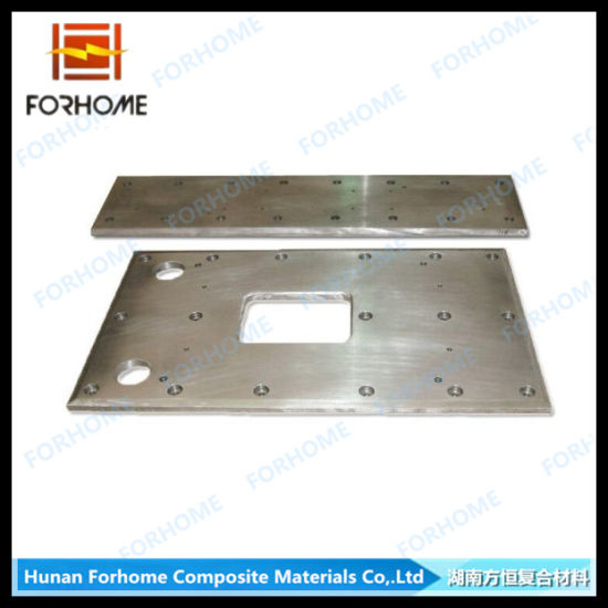 Corc-G Compound Steel Sliding Strip/ Sliding Liner Bed Plate with Wear-Resistance Clad Plate pictures & photos
