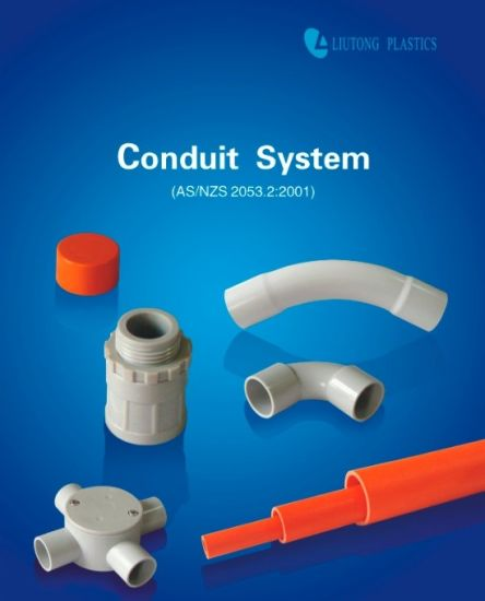 Australian Market Hot Sale Plastic UPVC Conduit & Fittings in AS/NZS2053 Standard pictures & photos