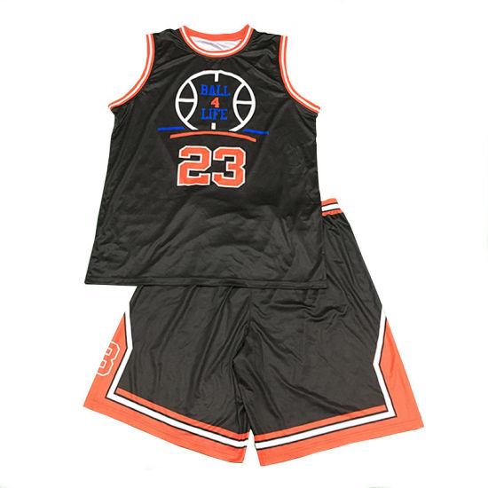 b3d866acc Healong Men′s Wholesale Cheap Basketball Jerseys Team Wear Basketball  Uniforms