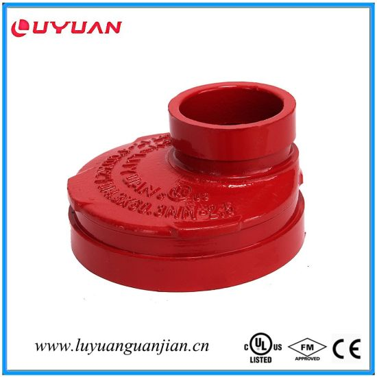 UL Listed, FM Approval Ductile Iron Grooved Flexible Clamps 1′-33.7 pictures & photos