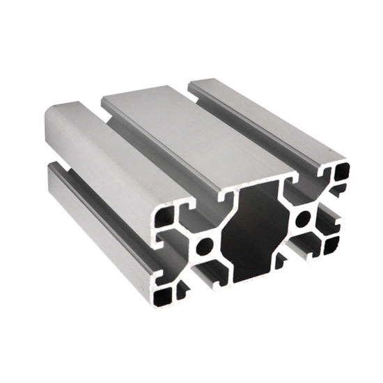 China Industry Silver Anodized 40X80 V Slot Aluminum Extrusion ...