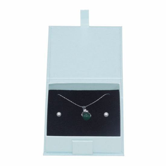 Oem Odm Antique Velvet Insert Earring Necklace Jewelry Paper Box