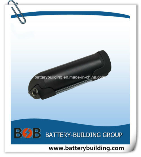 Best Performance 48V 10ah Lithium Black Water Bottle Type Battery for Electric Bike and Tricycle