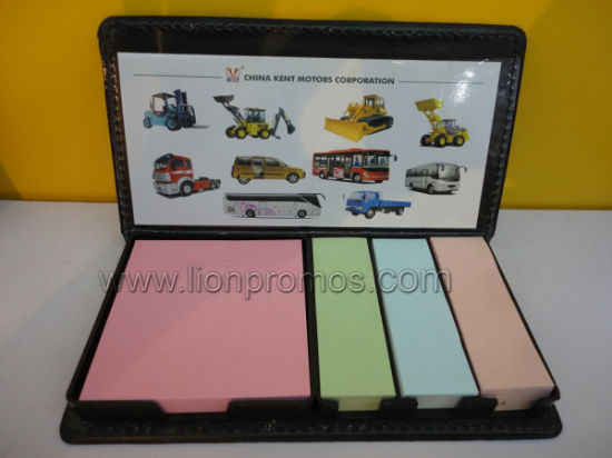 Custom Business Gift Sticky Memo Pad Set