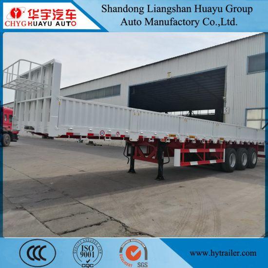 Cargo/Container/Livestock Utility Heavy Truck Trailer Semi-Trailer