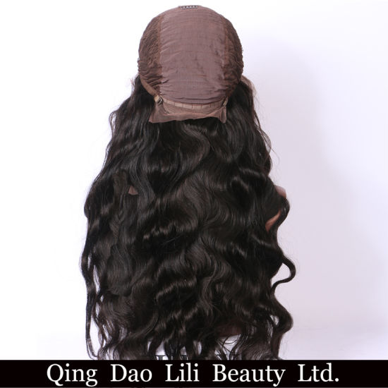 Silk Base Lace Front Wig 8A Grade Brazilian Glueless Body Wave Wigs pictures & photos