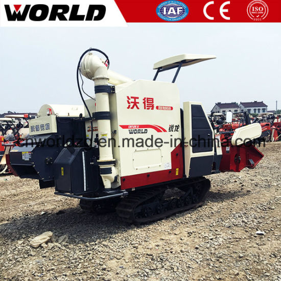 Rice Harvester with Axial Flow Threshing System pictures & photos