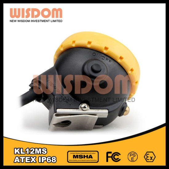 Waterproof IP68 Head Lamp, Safety Explosion Proof Miners Cap Lamp pictures & photos