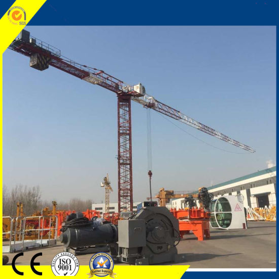 Best 18ton Rcp7524-18 Topless Tower Crane for Wide Using