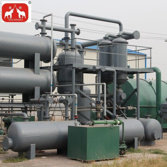 Waste Tyre Oil Recycling Pyrolysis Machine