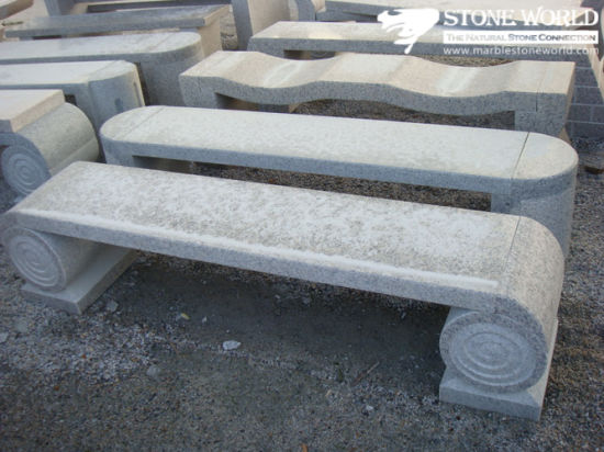 China Green Granite Table and Chair for Park Decorations pictures & photos