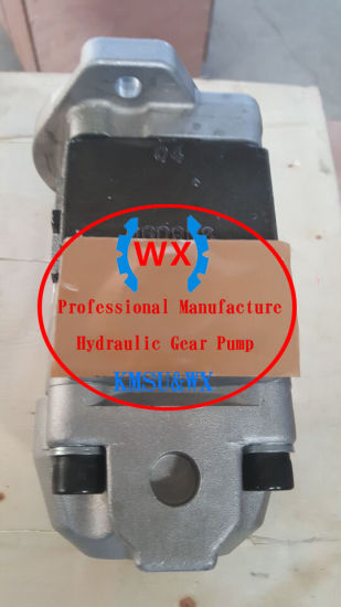 PC88mr-6 PC80mr-3 PC70-8 708-3t-04620 Komatsu Hydraulic Gear Pumps /OEM! ! EXW Price! ! Hot Sale PC78uu-6 Small Excavator Hydraulic Gear Oil Pump 708-3t-04620 pictures & photos