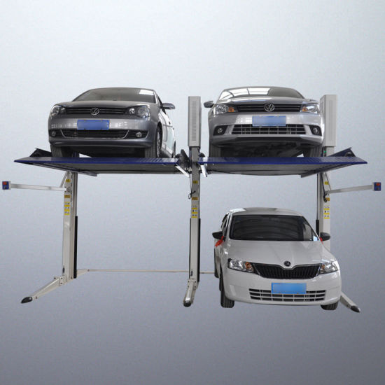 Hydraulic Car Parking Lift with Two Post Cars