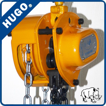 Portable 1 Ton 2 Ton 3 Ton 5 Ton Hand Operated Small Crane Chain Hoist, Chain Block pictures & photos