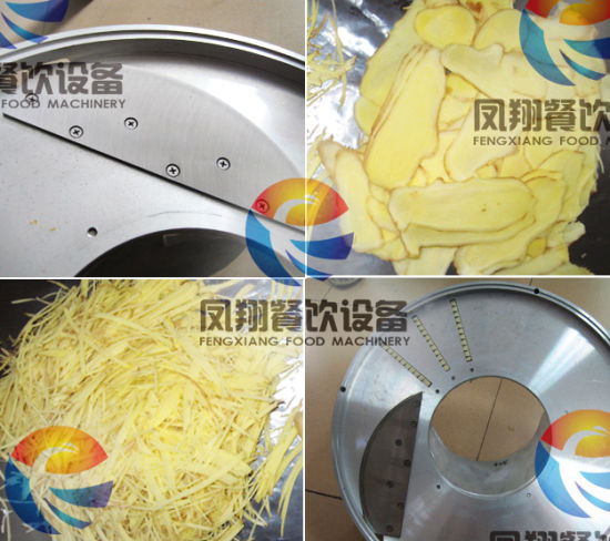 Automatic Fresh Ginger, Bamboo Cutting Machine FC-501 pictures & photos