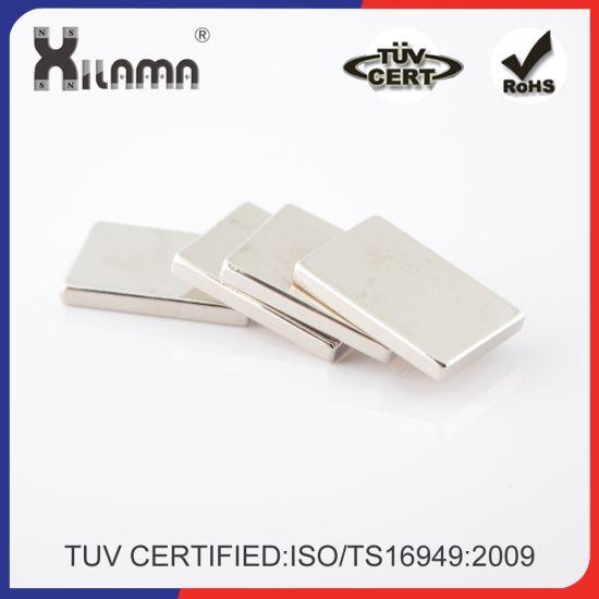 Permanent Industrial Magnet Sintered Strong NdFeB N35 Neodymium Motor Magnet