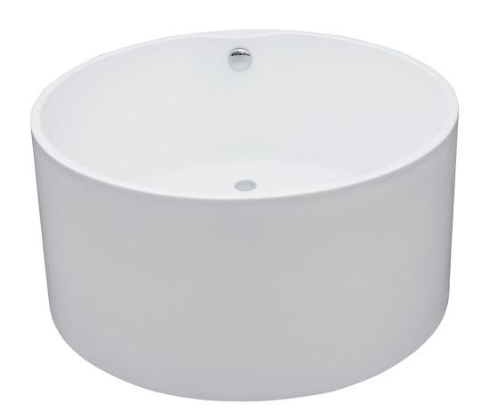 Quality Acrylic Small Deep Round Freestanding Bathtub pictures & photos