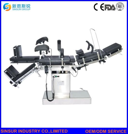 Electric Hydraulic Multifunction Patient Surgical Equipment Medical Operating Table pictures & photos