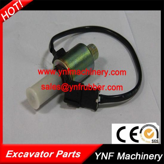 china high quality solenoid valve for komatsu pc200 5 6d95 excavatorhigh quality solenoid valve for komatsu pc200 5 6d95 excavator pictures \u0026 photos