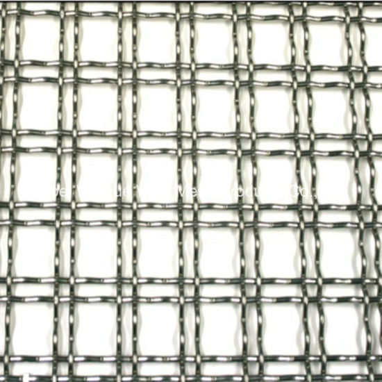 China Stainless Steel/Iron Crimped Wire Mesh Panel - China Crimped ...