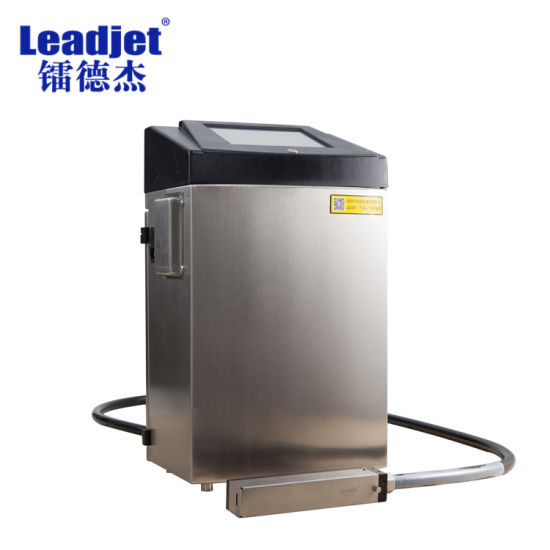 Leadjet Inkjet Coding White Spray Printer Machine for Pipeline, Wire pictures & photos