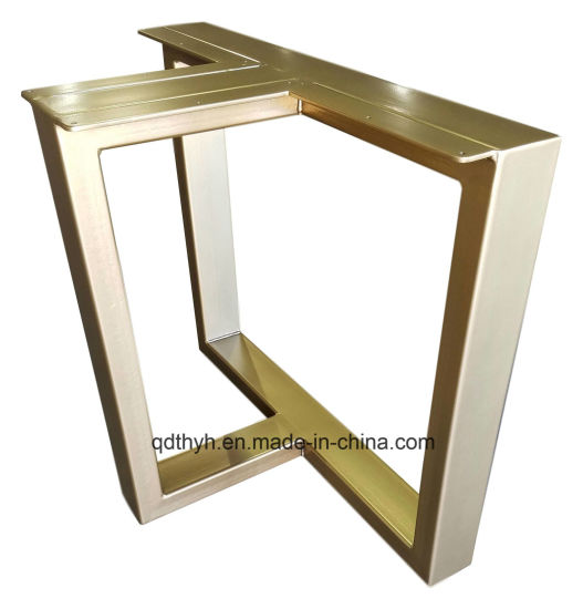 China Custom Commonly Used for Wood Tops Steel Metal Fabrication Table Frame pictures & photos