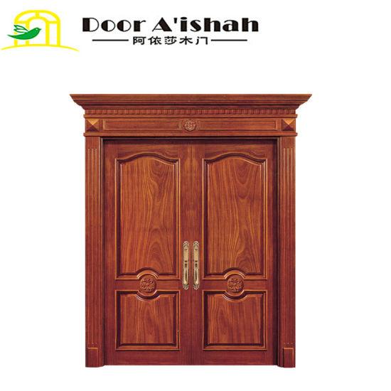 China Exterior Solid Wooden Door Main Entry Doors China Wood Door