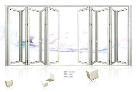 China Excellent Weather Stripping Glass Interior Aluminium Folding