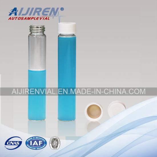 China 60ml Clear Glass EPA Vial VOA Vial Storage Vial