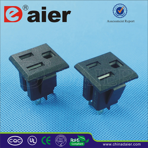 3 Holes European Standard Power Socket