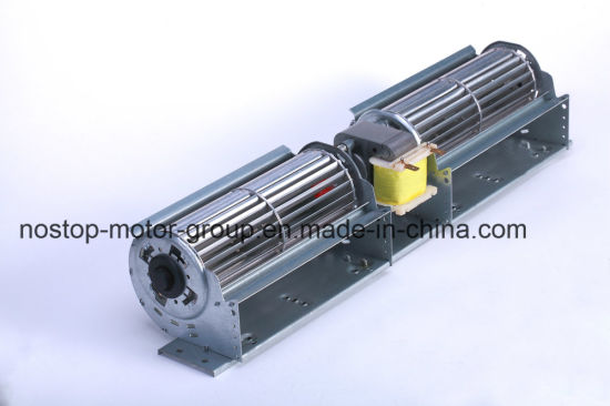 China Ac Cross Flow Stove Fan 1300 1050rpm Motor Tangential