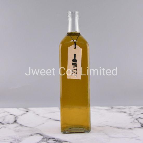 1000ml Empty Brandy Glass Bottle Whisky Glass Bottle